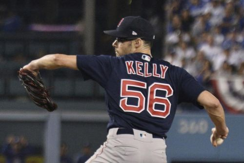Dodgers signing former Red Sox P Joe Kelly for $25M