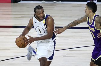 Warren scores 39, Pacers surge past Lakers late, 116-111