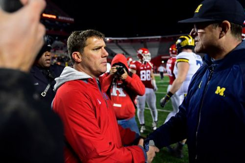 Rutgers football so irrelevant that Michigan's Jim Harbaugh forgets their head coach's name