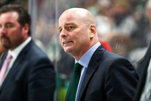 Dallas Stars fire coach Jim Montgomery for 'unprofessional conduct'