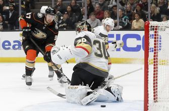 Karlsson's hat trick, Theodore's OT goal lift Knights in OT