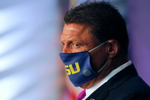 LSU coach Ed Orgeron confident of college football's return: 'Football is the life blood of our country'