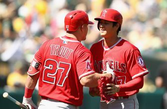 Mike Trout, Shohei Ohtani are the American League's prizes in first half
