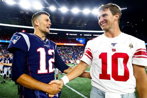 Tom Brady's got jokes about Eli Manning's retirement
