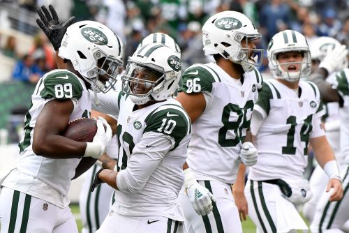 WRs Enunwa, Pryor, Anderson top Jets' lengthy injury list