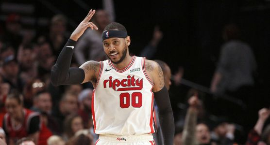 Carmelo Anthony is off to a solid start for the Blazers