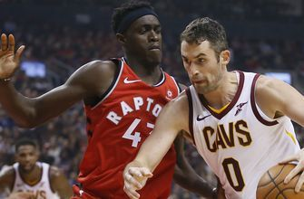 Cavs have five players score in double digits, fall to Leonard, Raptors 116-104