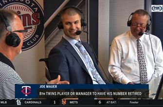 Twins' Joe Mauer content with decision to retire