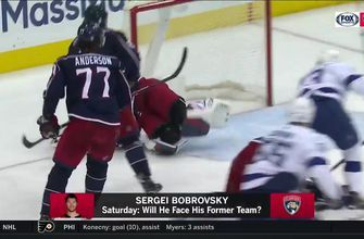 Panthers G Sergei Bobrovsky gears up to face former team as Blue Jackets come to town