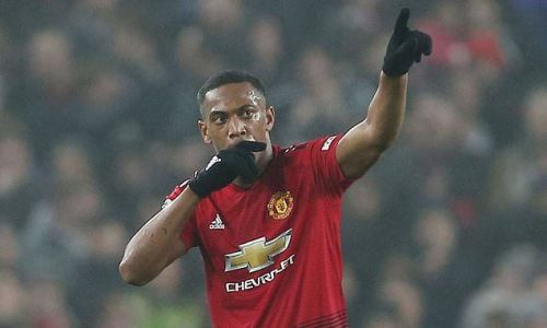 Manchester United trigger one-year option on Anthony Martial's deal