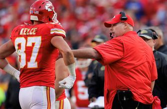 Travis Kelce discusses how Kansas City Chiefs head coach Andy Reid has elevated his game