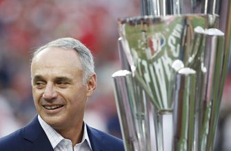 Manfred confident A's, Rays moving closer to new ballparks