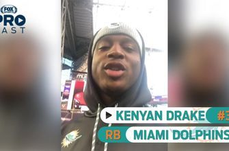Dolphins RB Kenyan Drake is ready for the Vikings