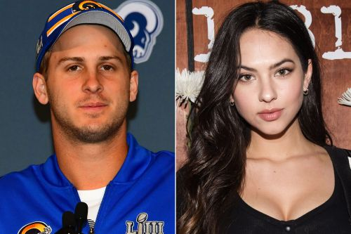 Jared Goff getting over Super Bowl loss with model girlfriend