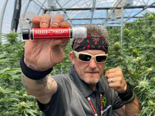 Darren McCarty used to tamper with drug tests. Now his marijuana brand is on the market