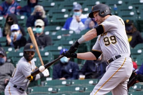 Todd Frazier, 2-time All-Star hitting .086, cut by Pirates